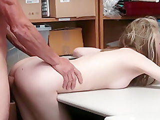 Alina West open her legs as punishment